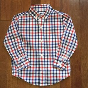 Janie and Jack Button Down Shirt Boys 2T